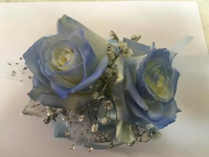 Tipped Rose Corsage