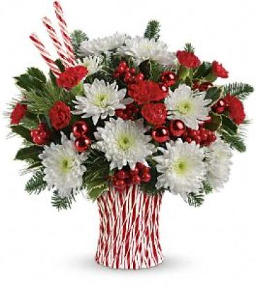 Sweet Holiday Wishes Bouquet