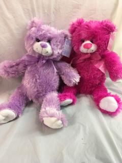 Hot Pink or Purple Bear