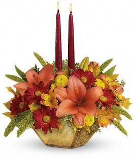 Autumn Reflections Centerpiece