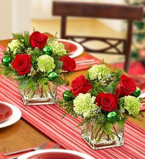 Colors of Christmas Centerpiece