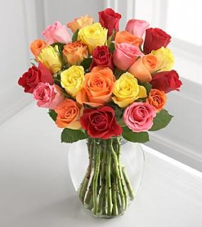 Mixed Petite Rose Bouquet