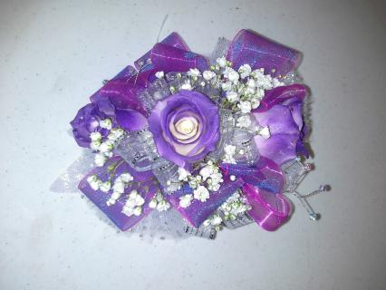 Sprayed Tips Corsage